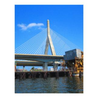 ギフトのボストン橋写真 レターヘッド