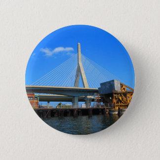 ギフトのボストン橋写真 5.7CM 丸型バッジ