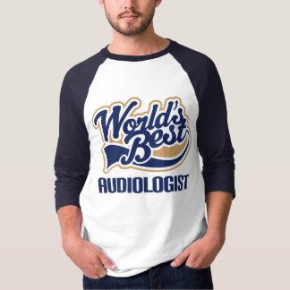 ギフトの世界のベストの聴覚学者 Tシャツ