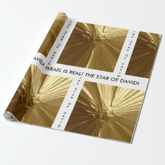 ギフトの包装紙-ダビデの星 ラッピングペーパー