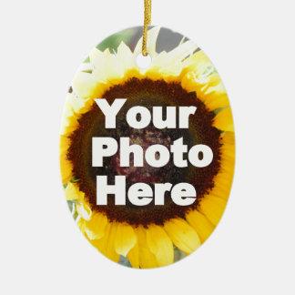 ギフトの友人のお母さんの祖母の叔母さんにあなた自身の写真を置いて下さい セラミックオーナメント