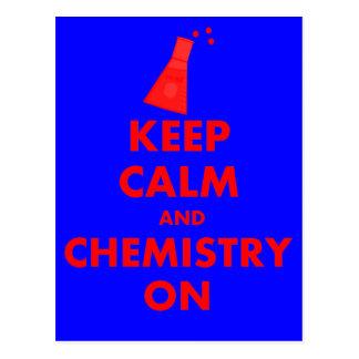 ギフトの平静そして化学を保って下さい ポストカード
