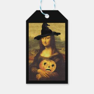 ギフトはモナ・リザの魔法使いのハローウィンパーティのホストに付けます ギフトタグ