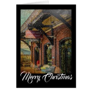 ギフトショップのクリスマスNotecard カード
