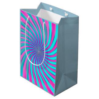 ギフトバッグの螺線形渦 ミディアムペーパーバッグ