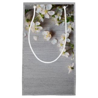 ギフトバッグ--結婚式の野生の花 スモールペーパーバッグ