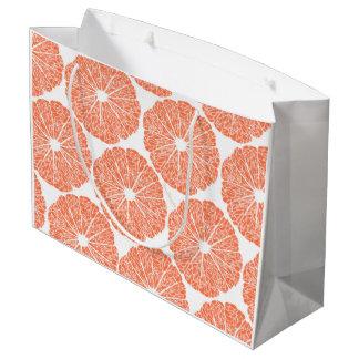 ギフトバッグ-適するべきグレープフルーツ ラージペーパーバッグ