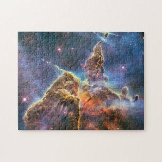 ギフト用の箱が付いているカリーナの星雲の写真のパズル ジグソーパズル