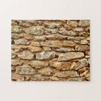ギフト用の箱が付いている石細工の写真のパズル ジグソーパズル