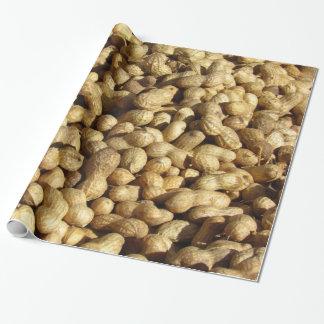 ギフト用包装紙-ピーナツの山 ラッピングペーパー