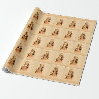 ギフト用包装紙- 2匹の子ネコ ラッピングペーパー