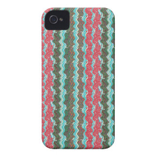 ギフト99のエレガントで芸術的な波パターン質 Case-Mate iPhone 4 ケース