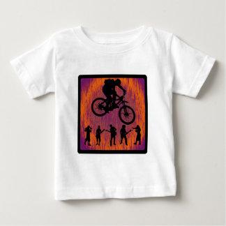 ギャグのバイク ベビーTシャツ