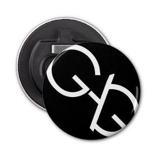 ギャグのロゴの栓抜きの黒 栓抜き