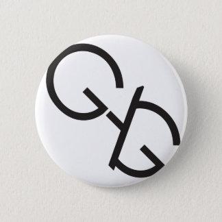 ギャグのロゴ2.25inボタン 5.7cm 丸型バッジ