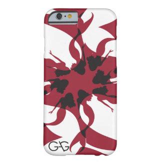 ギャグの人魚の例-カスタムな色 BARELY THERE iPhone 6 ケース