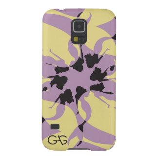 ギャグの人魚の例-紫色 GALAXY S5 ケース