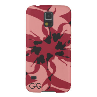 ギャグの人魚の例-赤 GALAXY S5 ケース