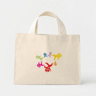 ギャグサーカス大阪、日本によるStarmanの花のバッグ ミニトートバッグ