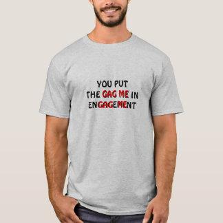 ギャグ婚約の私 Tシャツ