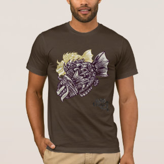 ギャグCirucus、大阪日本によるSAKANAのTシャツ Tシャツ