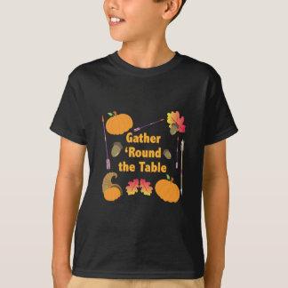 ギャザー Tシャツ