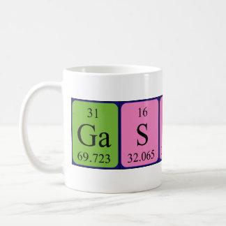 ギャスパールの周期表の名前のマグ コーヒーマグカップ
