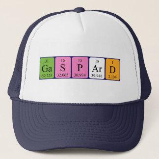 ギャスパールの周期表の名前の帽子 キャップ