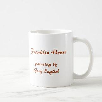 ギャリーの英語によって絵を描くフランクリン家 コーヒーマグカップ
