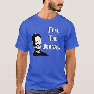 ギャリージョンソン-ジョンソンを感じて下さい Tシャツ