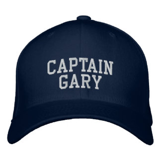 ギャリー大尉 刺繍入り帽子