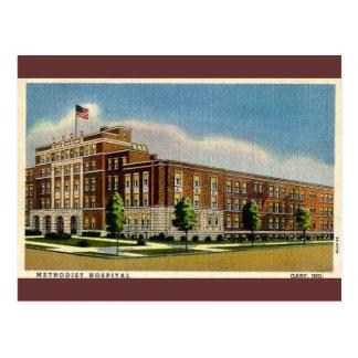 ギャリー、インディアナの古いメソジスト派の病院 ポストカード