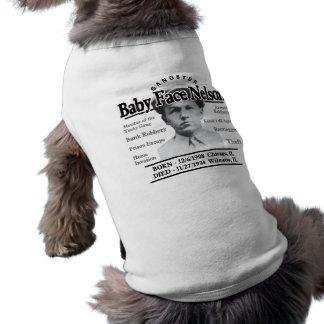 ギャングのベビーの顔ネルソン ペット服