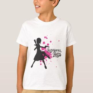 ギャングの女の子 Tシャツ
