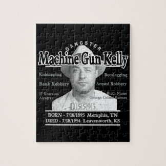 ギャングの機関銃ケリー ジグソーパズル