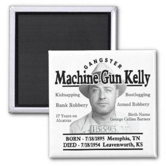 ギャングの機関銃ケリー マグネット