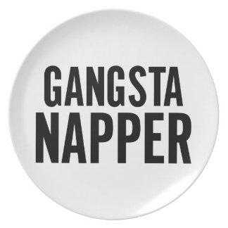 ギャングのNapper プレート