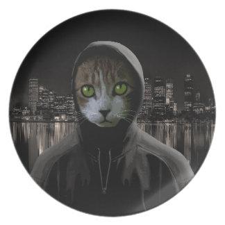ギャング猫 プレート