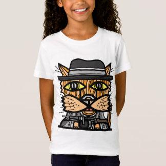 """""""ギャング""""の女の子の素晴らしいジャージーのTシャツ Tシャツ"""