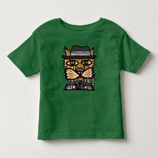 """""""ギャング""""の幼児の素晴らしいジャージーのTシャツ トドラーTシャツ"""