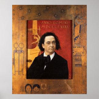 ギュスターブのクリムトの絵を描くことのポスター ポスター