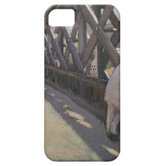 ギュスターブCaillebotによってLe Pont deのl'Europeのために調査して下さい iPhone SE/5/5s ケース