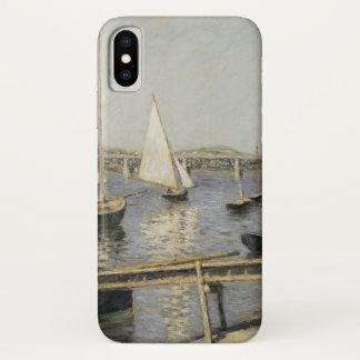 ギュスターブCaillebotte著アルジャントゥーユのヨット iPhone X ケース