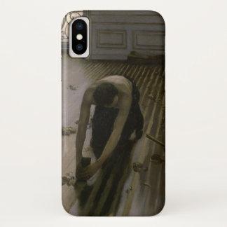 ギュスターブCaillebotte著床のスクレーパー iPhone X ケース