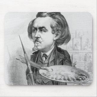 ギュスターブDore (1832-83年)、「Le Boulevからの風刺漫画 マウスパッド