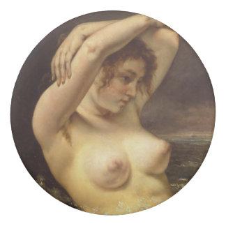ギュスターヴ・クールベ著波の女性 消しゴム