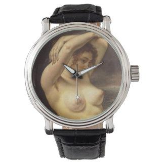 ギュスターヴ・クールベ著波の女性 腕時計