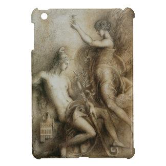 ギュスターヴ・モロー著古典美術Hesiodおよびムーサ iPad Miniケース