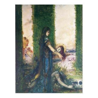 ギュスターヴ・モロー: 庭のSalome ポストカード