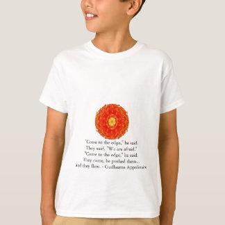 ギヨームAppolinaireの感動的な引用語句 Tシャツ